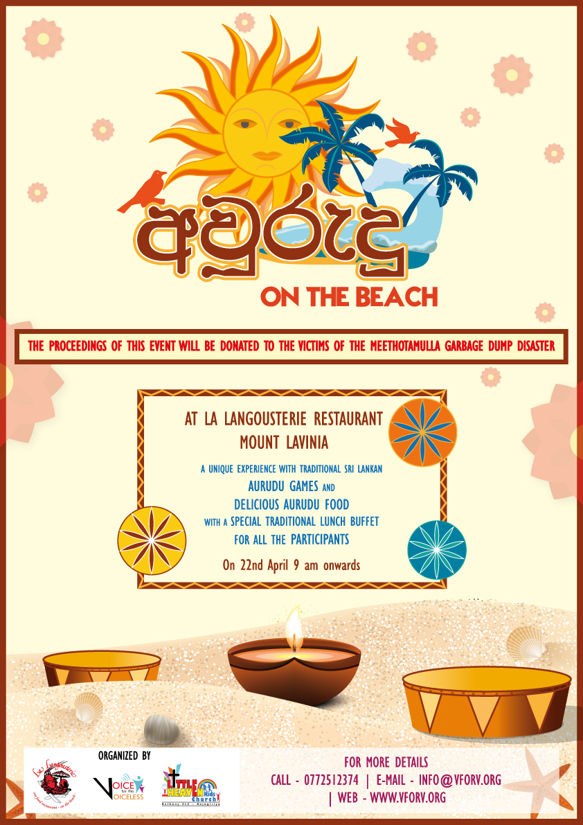 avurudu-on-the-beach-poster - Voice for Voiceless
